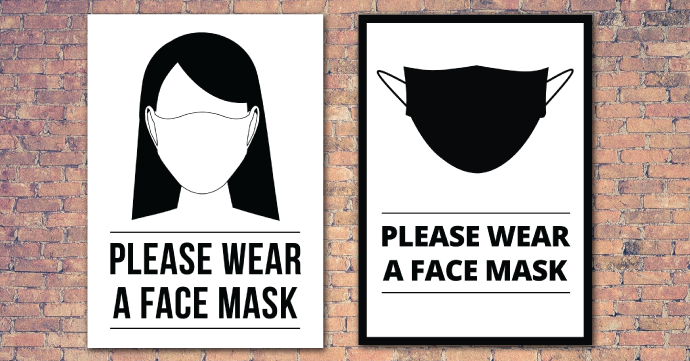 Printable Face Mask Signs For Businesses Cartridge People