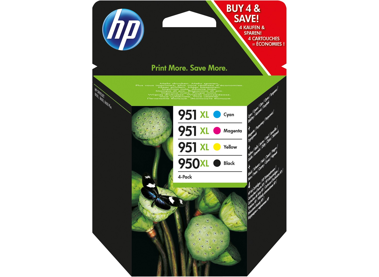 Hp Ink Cartridge 950 And 951
